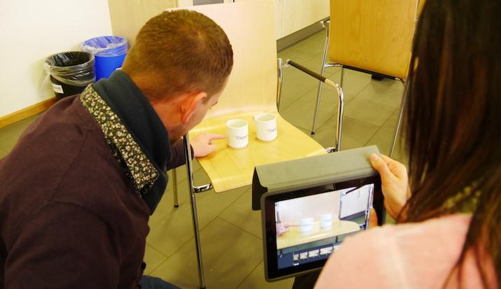 iPad-Nutzung im Workshop von Daniela Meiers
