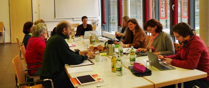 OVV-Sitzung mit neuer Vorsitzender Christiane Stöppler